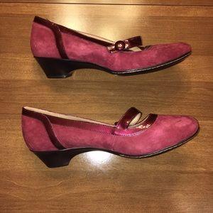 Softspots Shoes - NWOT Softspots burgundy shoes